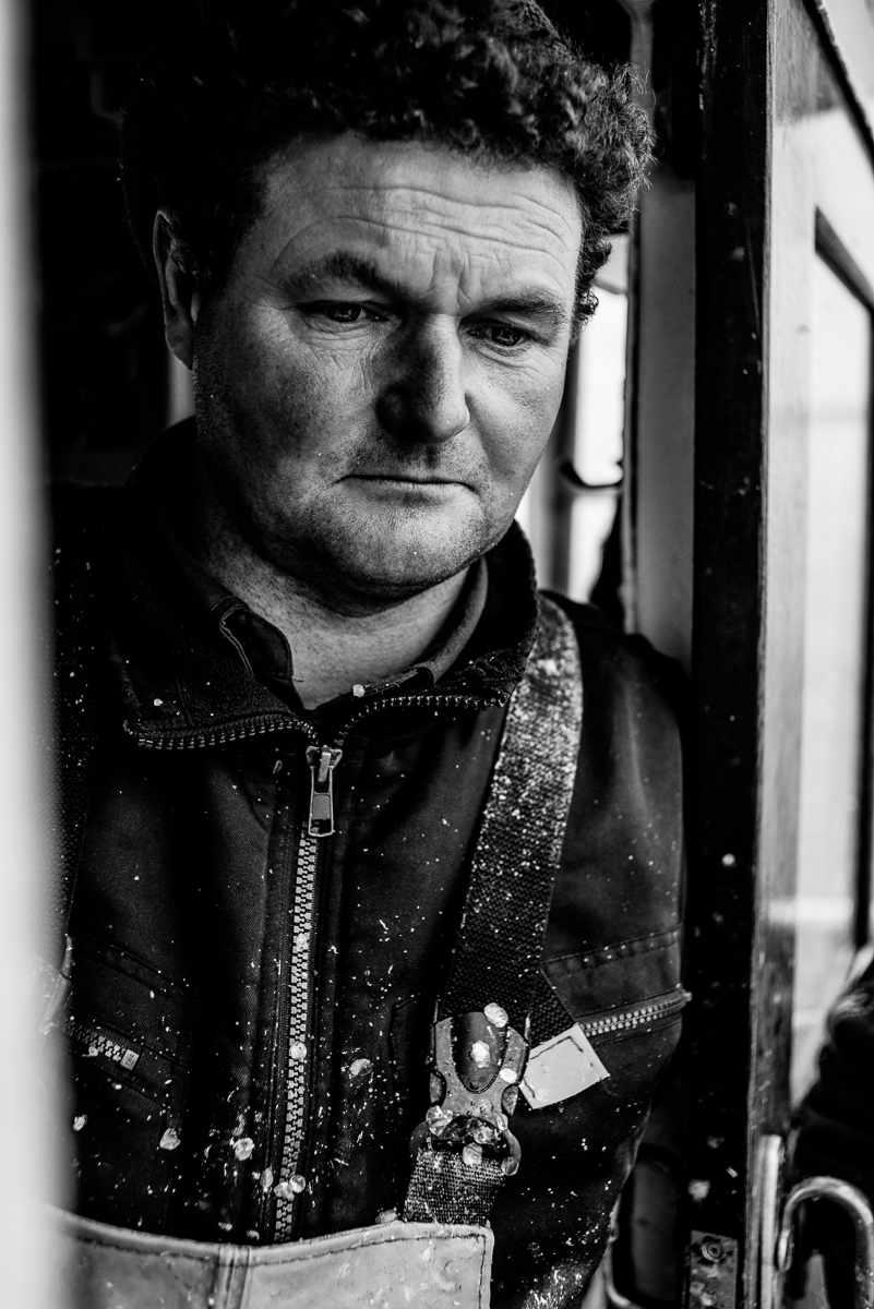 "CHRISTIAN THIELE Fischereibetrieb ""Thomas Koldevitz & Sohn"" Fotografie, Gager, März 2018, bagnet Ausstellung, Rügen, B7"
